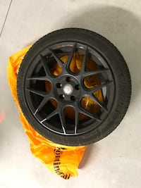 Mercedes Benz CLA45 AMG winter wheelset with 1 season old Michelin X-Ice 245 45 18 inch bolt pattern 5x112 set of 4 Toronto
