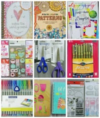 Large Bundle of Stationary /Art/Journal Supplies
