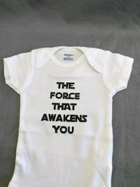 The force that awakens you Baby onesie Charlotte, 28213