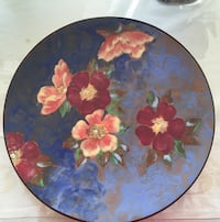 Large Royal Doulton Hand Painted Decor Plate  Toronto, M2R 3N1
