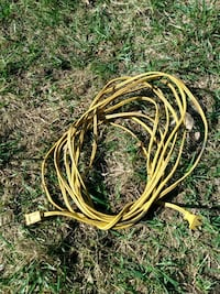 25 ft 16 gauge two prong light duty extension cord