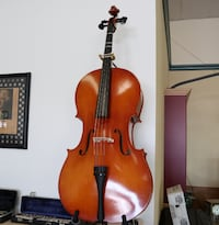 Strobel MC80 4/4 Full Size Cello w/ Bow & Soft Case MANASSAS