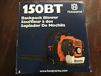 Brandnew Husqvarna 150BT Backpack Blower