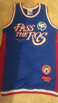 Jersey (Classic) Pass The Roc (1991) Jersey Charlotte, 28212