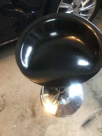 Bar Stool 2 Black Colour in good condition  Mississauga, L5N
