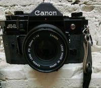 CANON A-1 50mm SLR film  Seattle