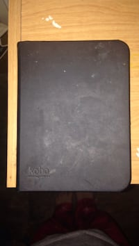 White Kobo in Black Kobo case
