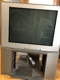 Sony crt tv with stand