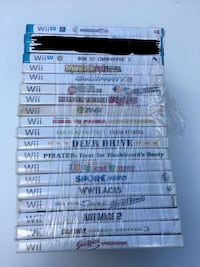 Wii and Wii U Games 18 left Pearl