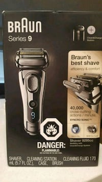*Unopened* Braun Series 9, electric face shaver