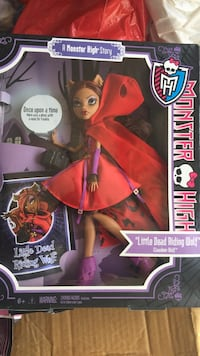 Monster HIgh Little Dead Riding Wolf doll San Lorenzo, 94580