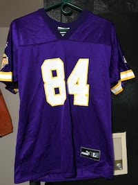 purple and white NFL jersey Bellevue, 15202