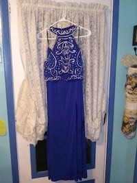 Beautiful blue gown size 12 Huntington, 25701