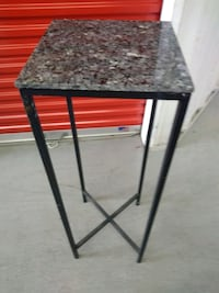 Tall marble top table 1305 mi