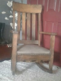 Antique Mission Style Rocking Chair, (1900-1950) Arvada, 80002