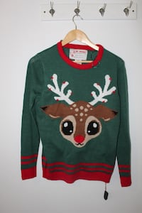 Light up rain deer sweater North Vancouver, V7J 1R3