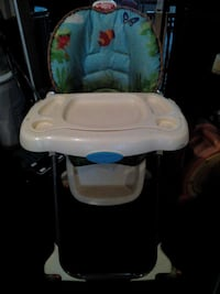 white, teal, and black highchair Orlando, 32810