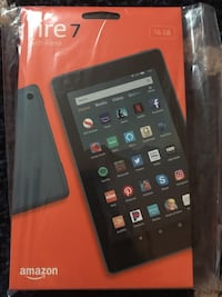 New sealed Amazon Fire Tablet 7 16GB with Alexa Silver Spring, 20910