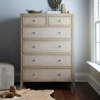 ADDISON 2 OVER 4 DRAWER DRESSER IN WEATHERED TAUPE Union, 07083