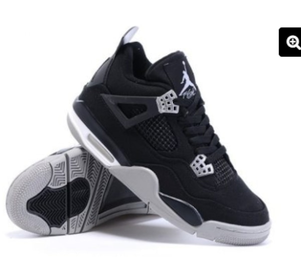 "huge selection of 1713a 2da19 Air Jordan 4 Retro ""Carhartt X Eminem"" Black Chrome-White"