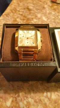 New Mens Micheal Kors Watch