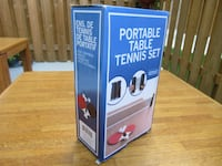 New portable table tennis set Burlington