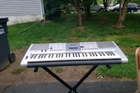 white and black electronic keyboard Stafford, 22554