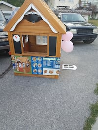 little tikes  play house wooden  Calgary