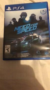 Need for Speed PS4 game case Knoxville, 37922
