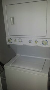 white stackable washer and dryer BVL, 34743