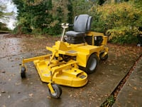 Commercial riding lawn mower  497 mi