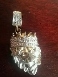 Iced out lion chain pendant  Torbay