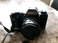 Canon T50 camera with Makinon 28mm lens.  London, N6K 2R8