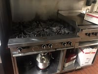 Stainless steel 5-burner gas stove 41 km