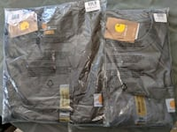 Two Carhartt long sleeve work shirts Humble, 77346