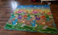 blue, green, and pink reversible playmat Clarksville, 72830