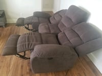 $200 OBO Brown Electrical Reclining Couches Toronto, M3M 3G8