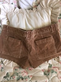 Rust color short shorts hang ten womens size29 Norco, 92860