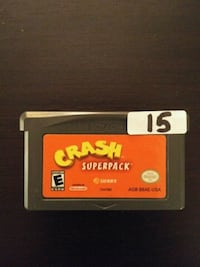 Gameboy Advance Crash Super Pack (2 games in 1) Vaughan, L4L