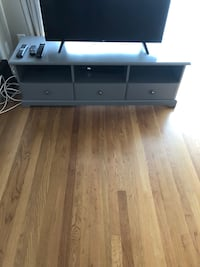 black and white wooden TV stand Los Gatos, 95030
