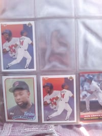 six baseball player trading cards Santa Rosa, 95401