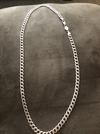 30in 925 Italy silverite chain Omaha, 68117
