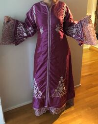Moroccan Caftan - One size fit - Adjustable around the waist with a brooch. Oslo, 0250