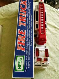 Collector Edition Hess Fire Truck New
