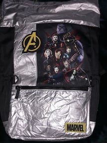Marvel Avengers Back Pack, New with Tags