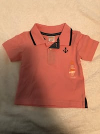 orange and black polo shirt Lynnwood, 98087