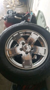 Jeep Cherokee limited rims and tires Utica, 48317
