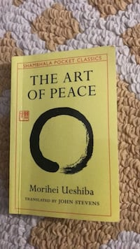 the art of peace pocket Book Colton, 92324