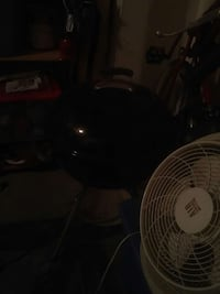 black charcoal grill and desk fan Aldie, 20105