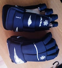 Guantes de hockey Mission Fly negros MADRID